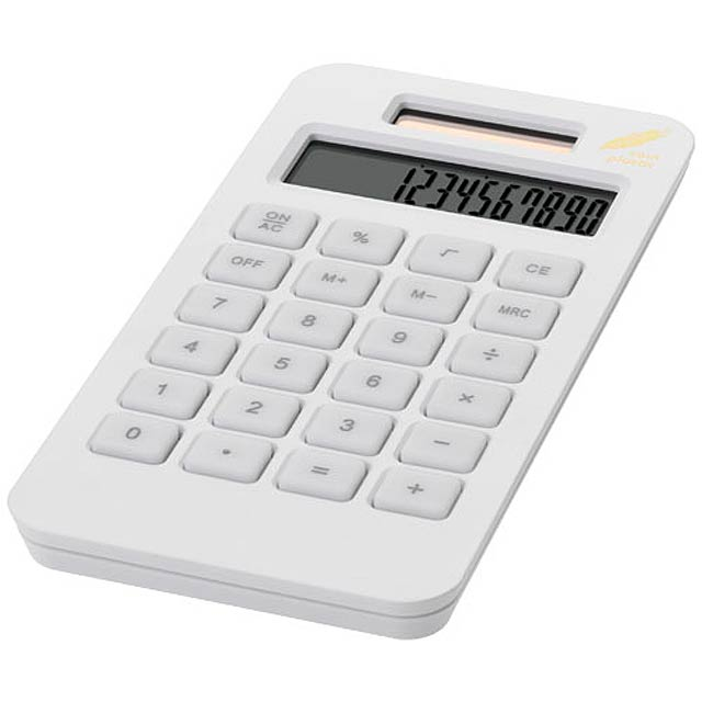 pocket calculator - white