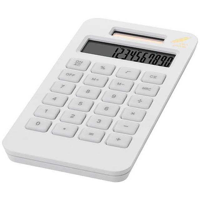 kalkulačka vrecková - biela