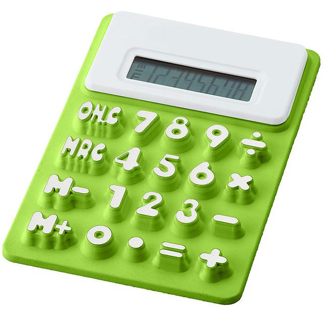 Ohebná kalkulačka Splitz - citrónová - limetková