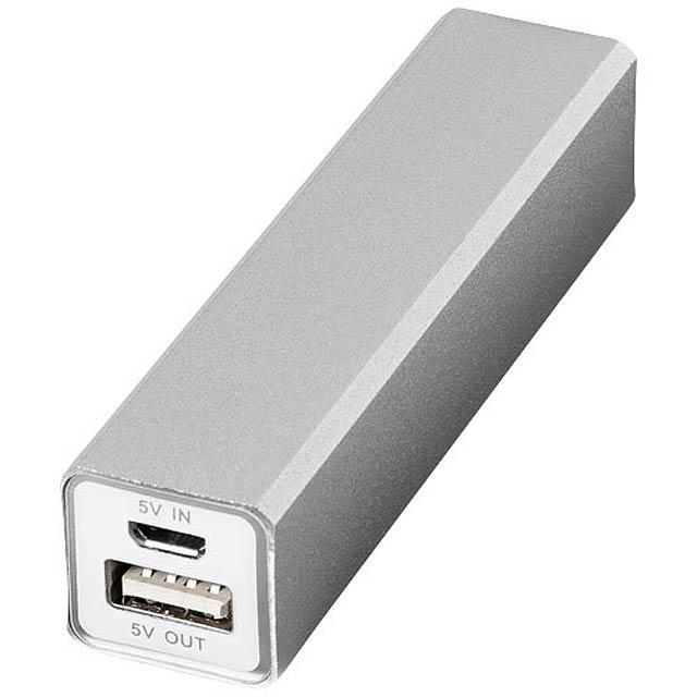 Powerbanka Volt 2200 mAh - stříbrná