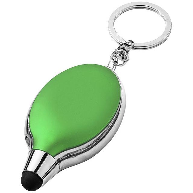 Svítilna a stylus na klíče Presto - citrónová - limetková