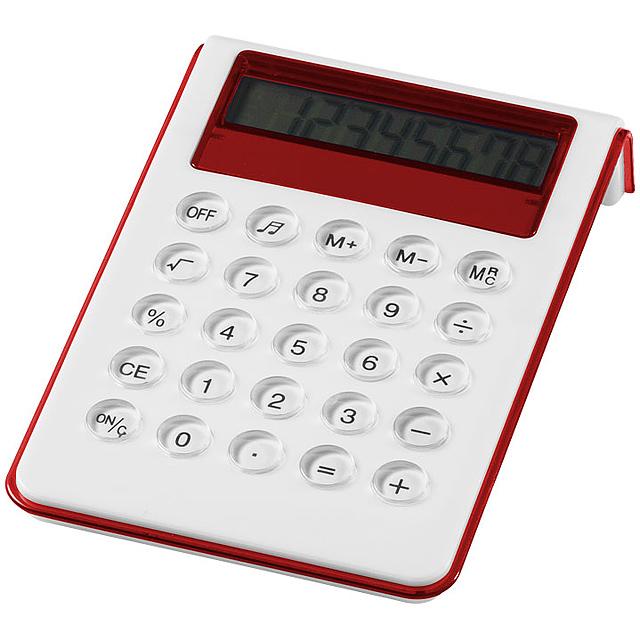 Stolní kalkulačka Soundz - biela