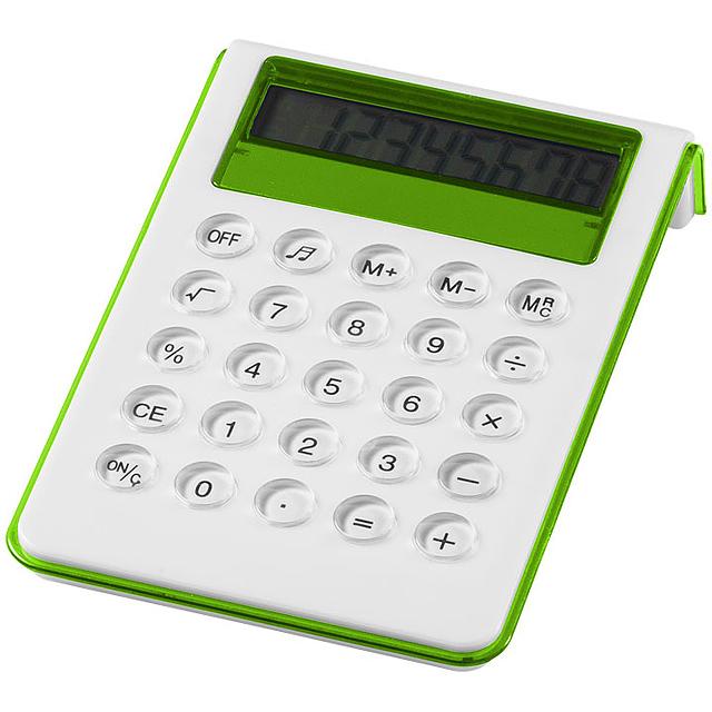 Stolní kalkulačka Soundz - citrónová - limetková