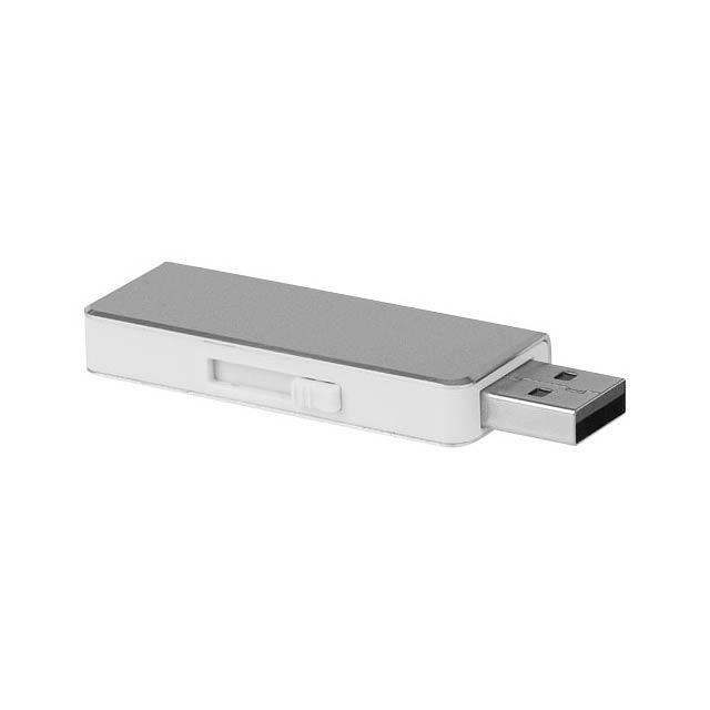 USB disk Glide 8 GB - stříbrná