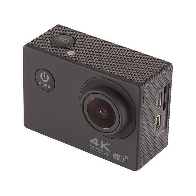 Akční kamera Portrait 4k s wifi - černá