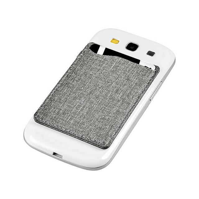Telefonní pouzdro na karty Premium RFID - šedá