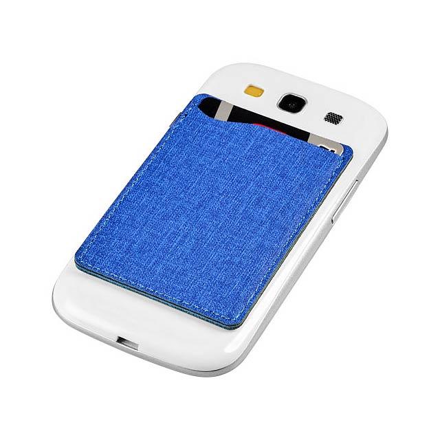 Telefonní pouzdro na karty Premium RFID - modrá
