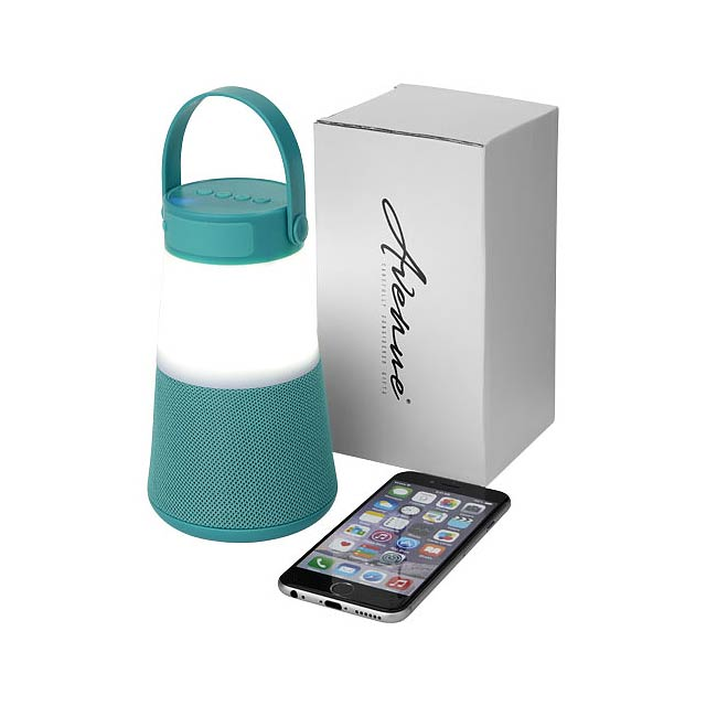 Svítící reproduktor Lantern Bluetooth® - zelená