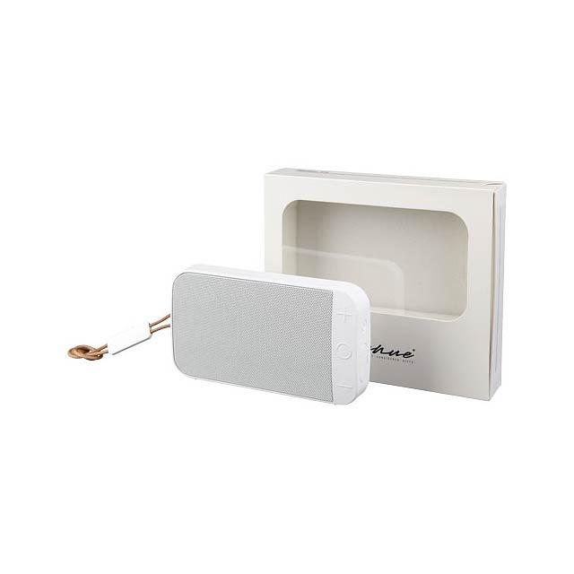 Vodotěsný outdoorový reproduktor Wells Bluetooth® - bílá