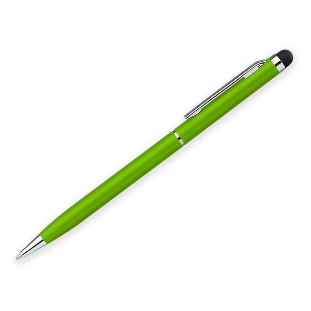 SLIM TOUCH kovové kuličkové pero s funkcí