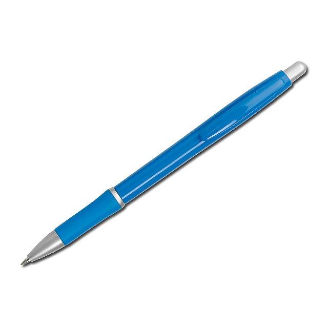 OCTAVIO - plastové kuličkové pero, - modrá