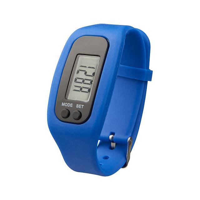 Chytré hodinky s krokoměrem Get-Fit - modrá