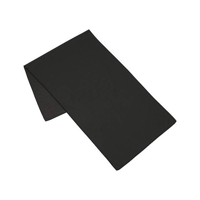 Fitness ručník Alpha - černá