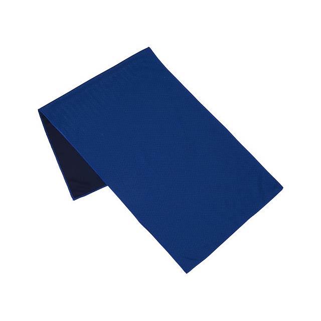 Fitness ručník Alpha - modrá