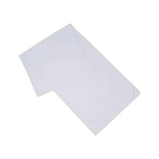 Fitness ručník Alpha - bílá