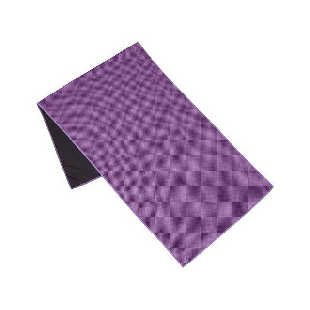 Fitness ručník Alpha - fialová