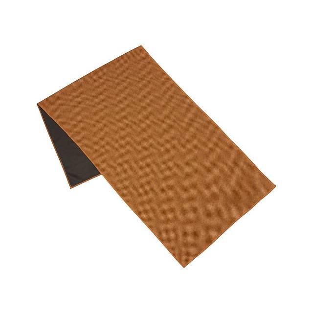 Fitness ručník Alpha - oranžová