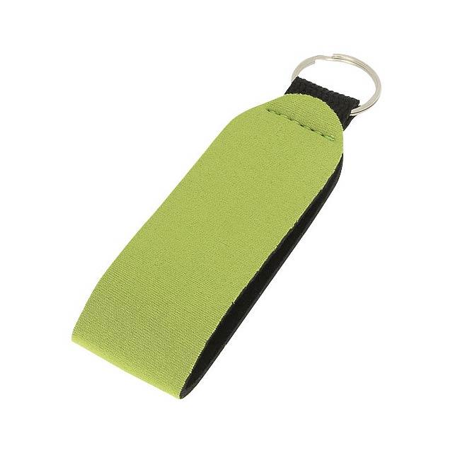 Visačka na klíče Vacay s dvojitým kroužkem - citrónová - limetková
