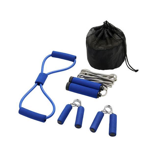 Sada pro cvičení Dwayne - modrá