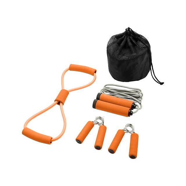 Sada pro cvičení Dwayne - oranžová