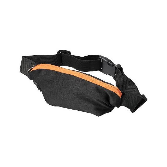 Flexibilní sportovní ledvinka Nicolas - oranžová