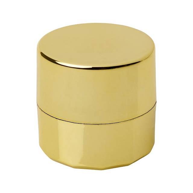 Luv metalický balzám na rty - zlatá