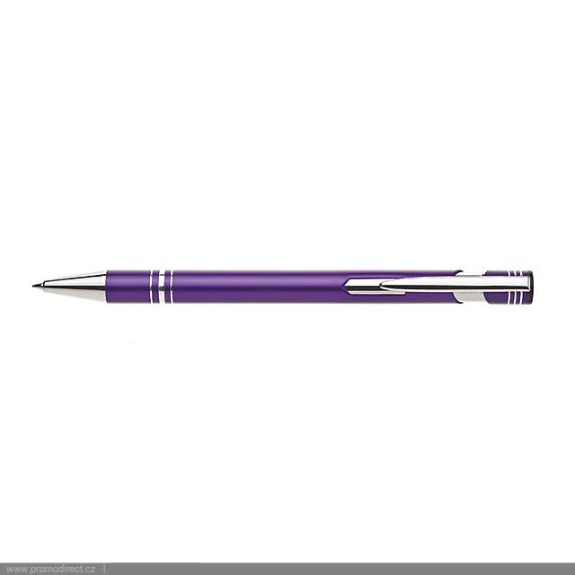 LIMET kovové kuličkové pero - fialová