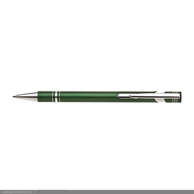 LIMET kovové kuličkové pero - zelená