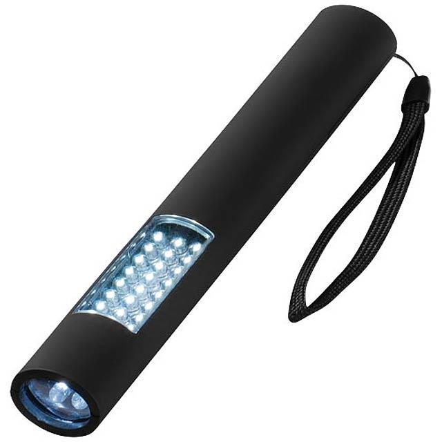Magnetická svítilna Lutz s 28 LED - černá
