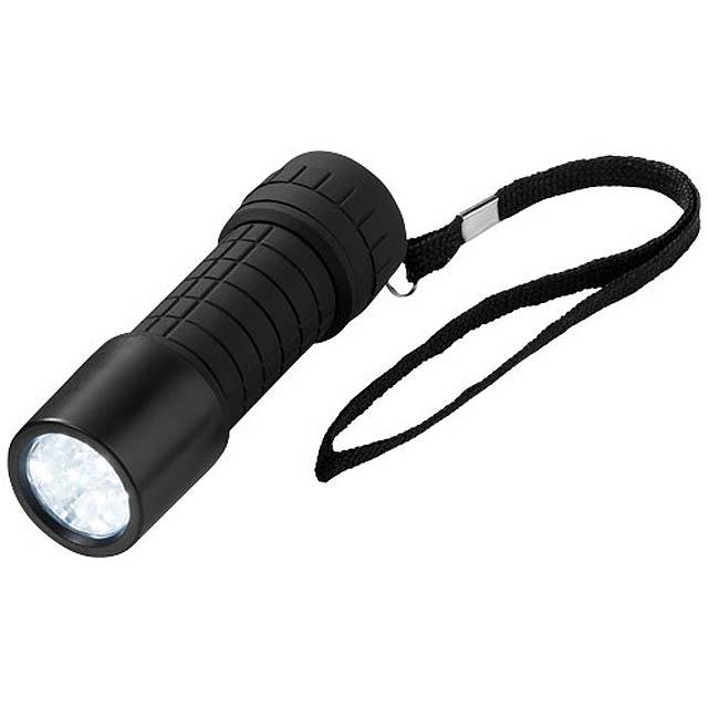 Svítilna Shine-on s 9 LED - černá