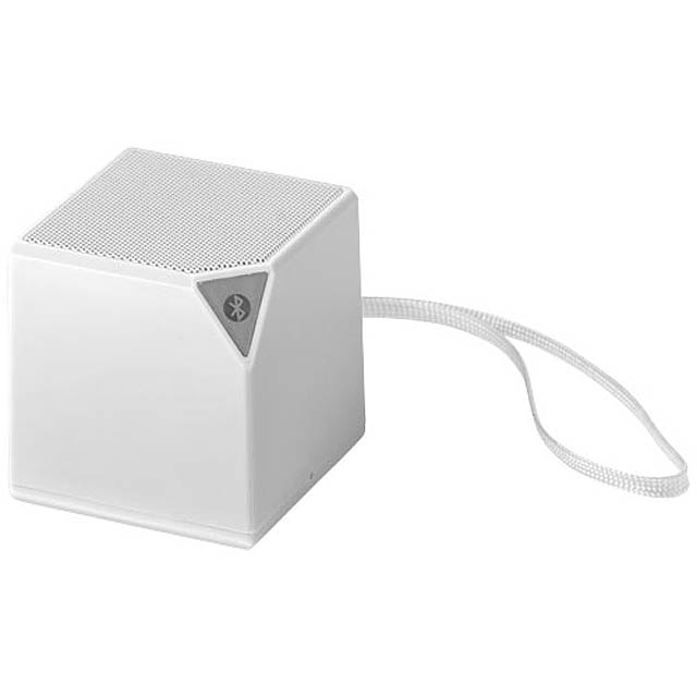 Reproduktor Sonic Bluetooth® s integrovaným mikrofonem - bílá