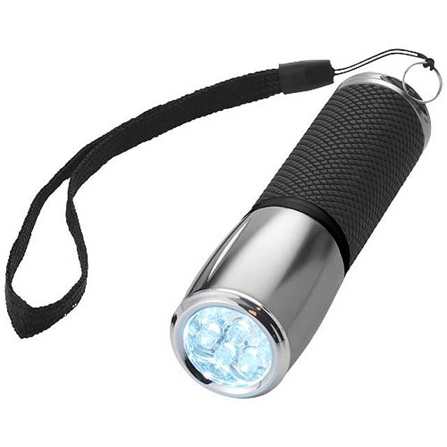 Svítilna Hank s 9 LED - černá