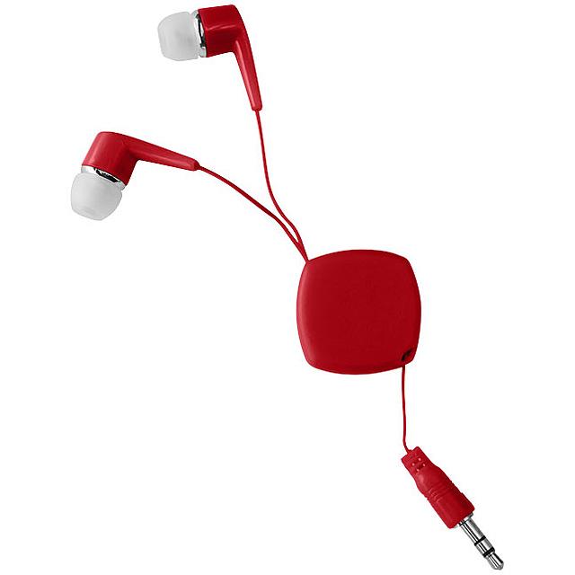 Sluchátka Dime - červená