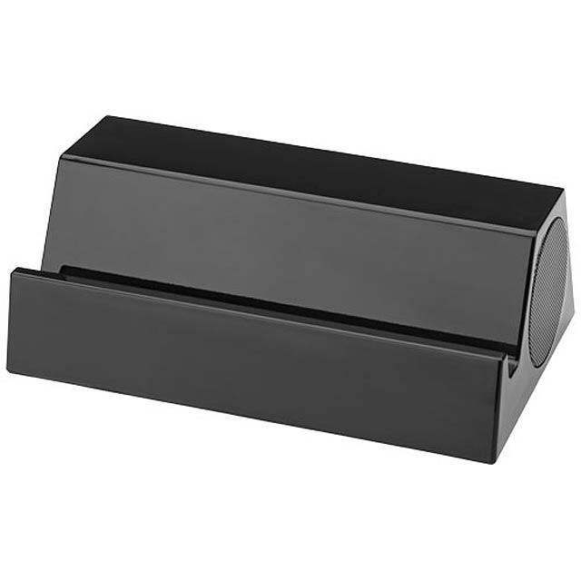 Bluetooth® reproduktor a stojánek Blare - černá