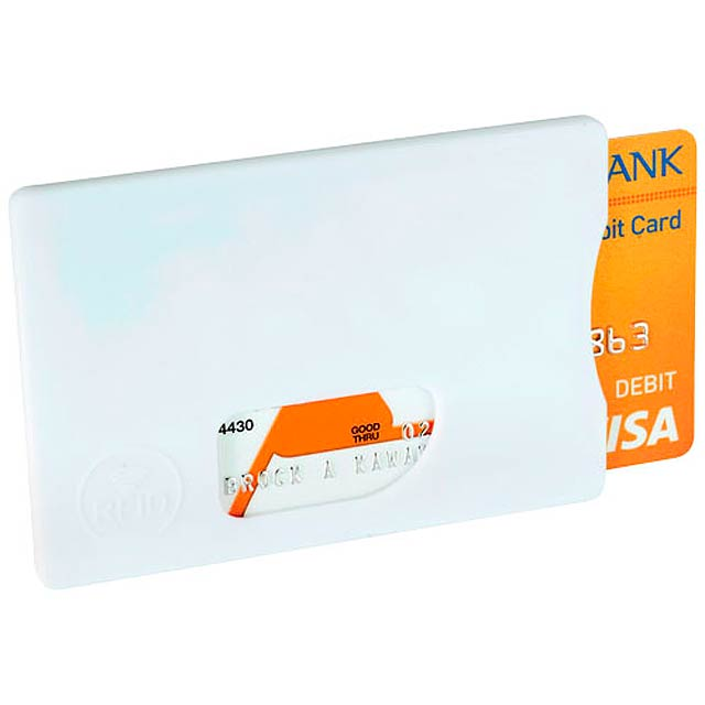 Ochrana pro RFID karty - bílá