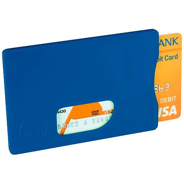 Ochrana pro RFID karty - královsky modrá
