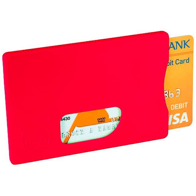 Ochrana pro RFID karty - červená