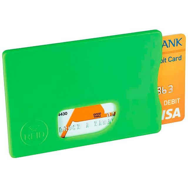 Ochrana pro RFID karty - citrónová - limetková