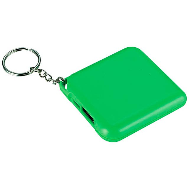 Powerbanka 1800 mAh Emergency jako přívěsek na klíče - citrónová - limetková