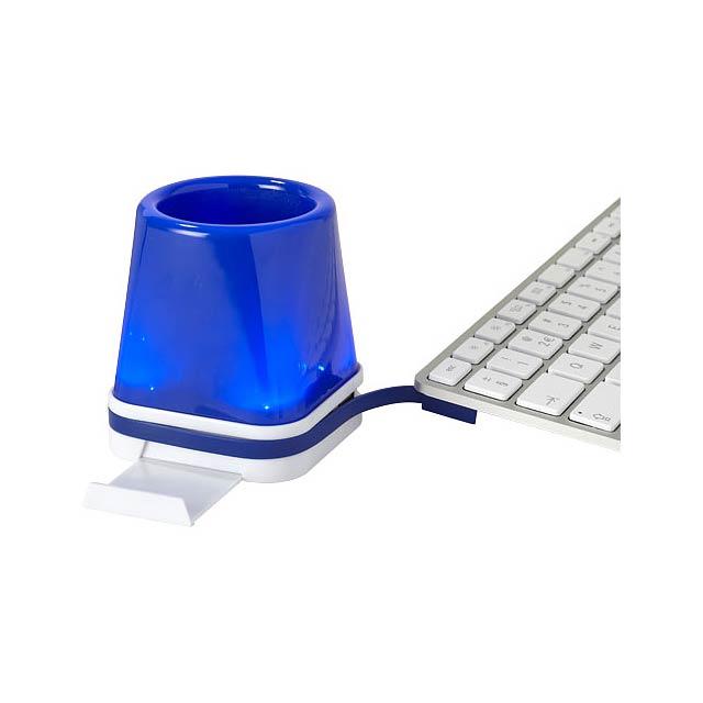 Rozbočovač Shine 4-in-1 - modrá