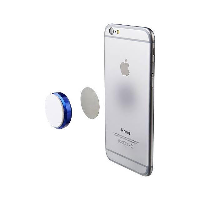 Magnetická přilnavá podložka pro telefon - modrá