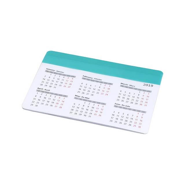 Podložka na myš Chart s kalendářem - zelená