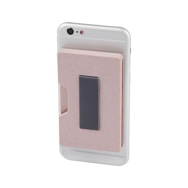 Grass RFID pouzdra na více karet - růžová
