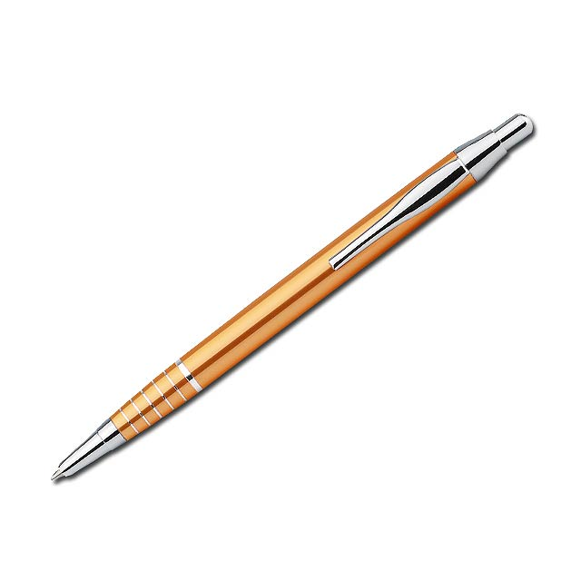 BELA - kovové kuličkové pero - zlatá