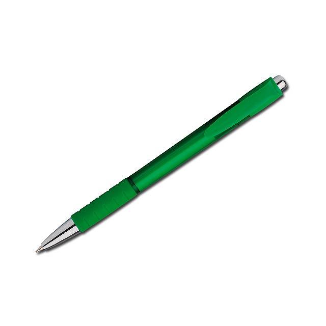 REMEY - plastové kuličkové pero - zelená