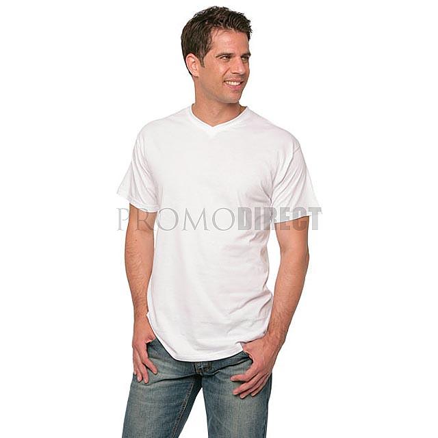 B&C - Pánské tričko - bílá