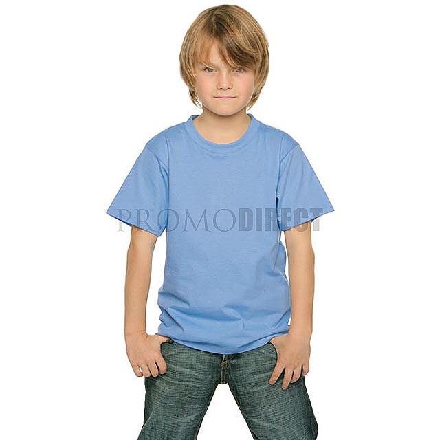 B&C - Dětské tričko - bílá