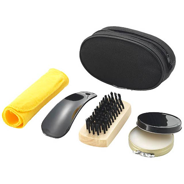 Shoe polish kit - black