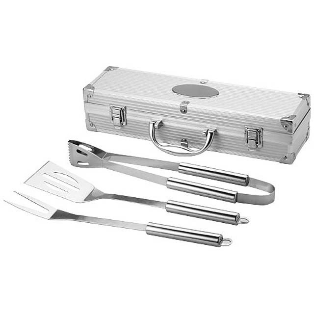 BBQ set - silver