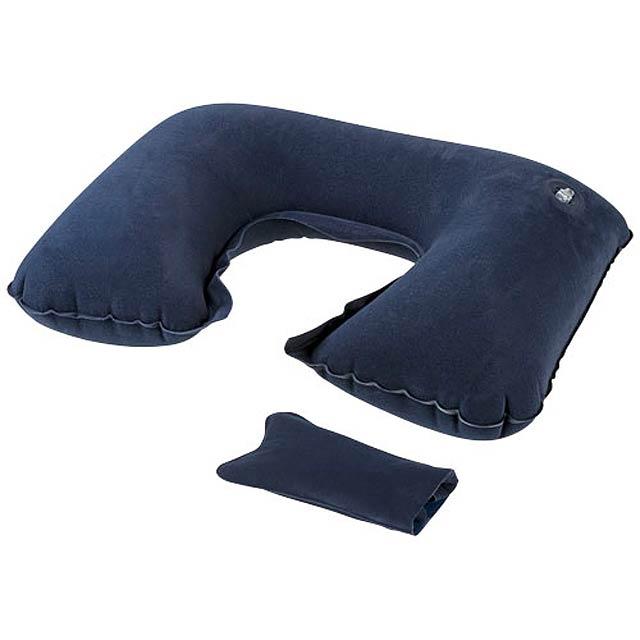 Nafukovací polštářek Detroit - modrá